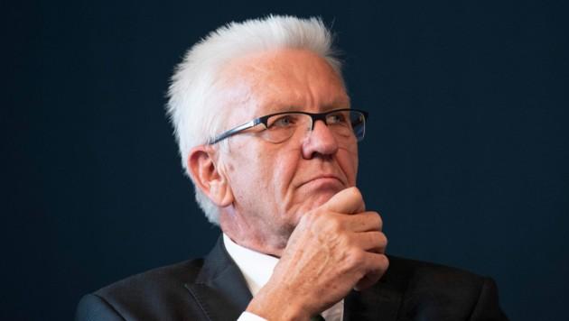 Der baden-württembergische Ministerpräsident Winfried Kretschmann
