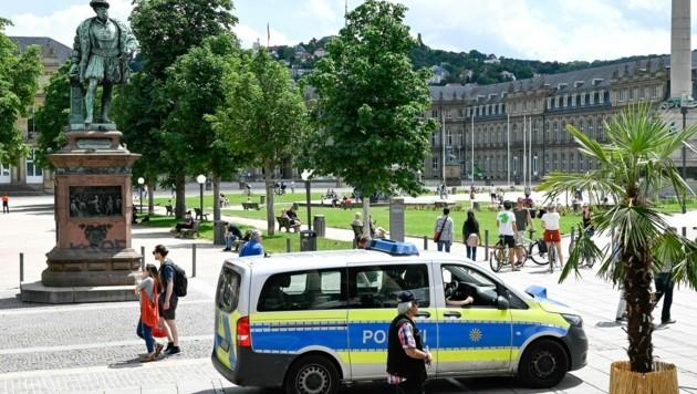 Auch am Tag danach zeigte die Polizei verstärkte Präsenz.