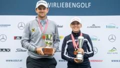Bernd Wiesberger und Emma Spitz (Bild: GEPA)