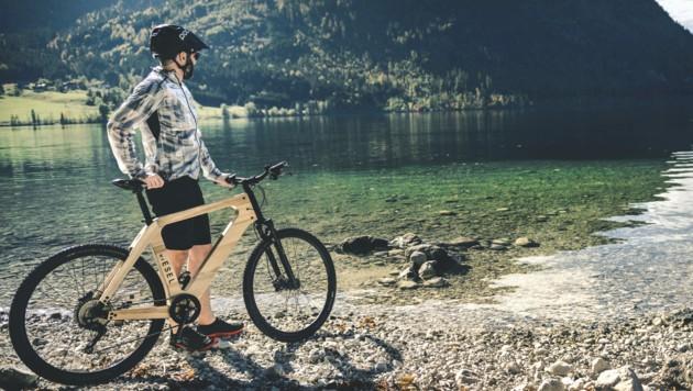 My Esel stellt Fahrräder mit Holzrahmen her. Regionalität zählt hier besonders. (Bild: My Esel/Andreas Maxones)
