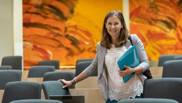 Jüngste Nationalratsabgeordnete Claudia Plakolm (25) (Bild: JVP/Schandl)
