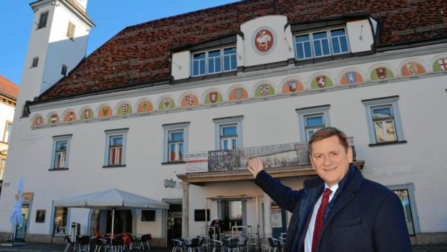 Leobens Bürgermeister Kurt Wallner (SPÖ) (Bild: Weeber Heinz)