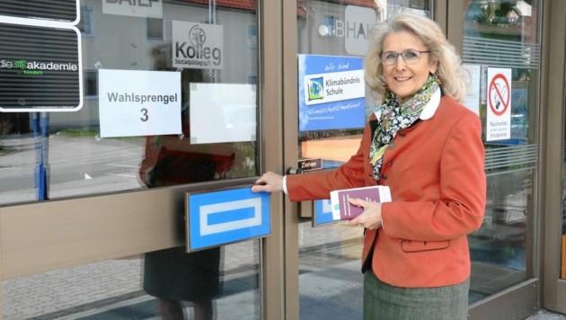 Bürgermeisterin Roswitha Glashüttner (Liezen) (Bild: Christian Jauschowetz)
