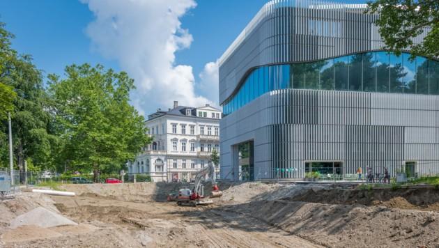 Tiefgaragenrampe für das Paracelsus-Bad (Bild: Stadt Salzburg / Alexander Killer)