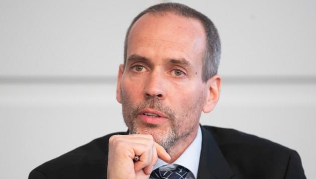 """Eytan Reif, Sprecher der Initiatve """"Ethik für alle"""" (Bild: APA/GEORG HOCHMUTH)"""