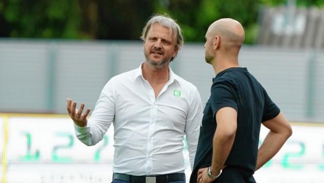 Markus Schopp lässt die Punkte-Rückgabe kalt (Bild: Sepp Pail)