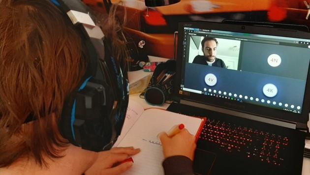 Online-Unterricht wird nicht mehr verschwinden. (Bild: Christian Tragner)