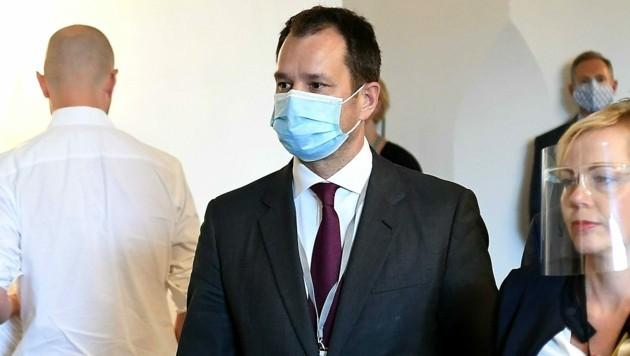 ÖBAG-Chef Thomas Schmid auf dem Weg zu seiner Befragung im Ibiza-U-Ausschuss