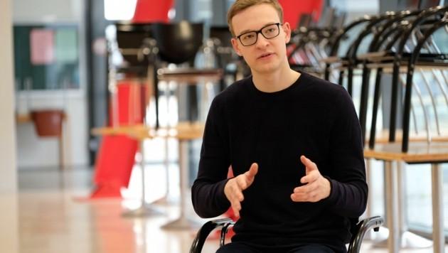 Mario Hofer ist der Vorsitzende der Österreichischen Hochschülerschaft (ÖH). (Bild: Einöder Horst)
