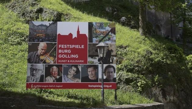 Die Burgfestspiele Golling legen schon am 9. Juli los. (Bild: Tröster Andreas)