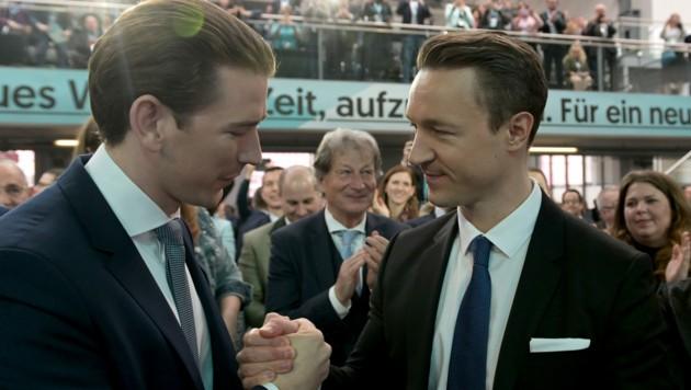 Bundeskanzler Sebastian Kurz und Finanzminister Gernot Blümel (Archivbild) (Bild: APA/Herbert P. Oczeret)