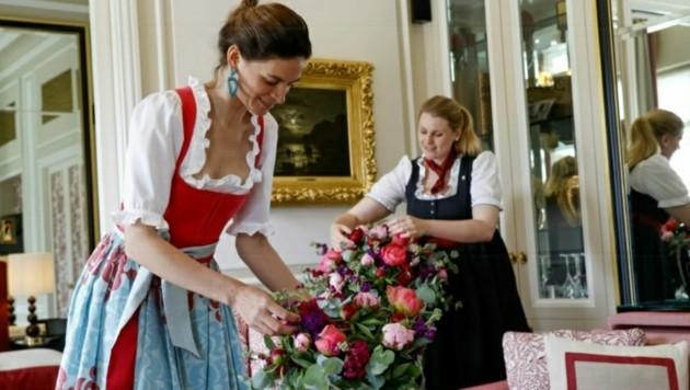 Im bekannten Hotel Sacher wurden 35 Mitarbeiter gekündigt. (Bild: Markus Tschepp)