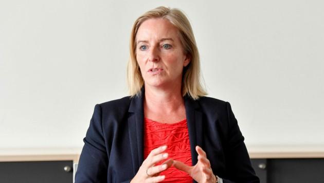 Carmen Breitwieser, Vertretung der Bezirksverwaltungsbehörden im Krisenstab des Landes (Bild: Harald Dostal)