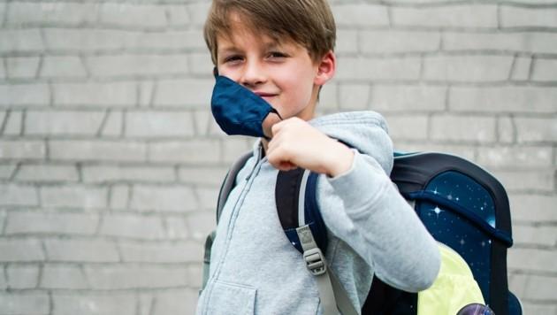 Die Maskenpflicht an Schulen ist seit Pfingsten Geschichte (Bild: Wenzel Markus)