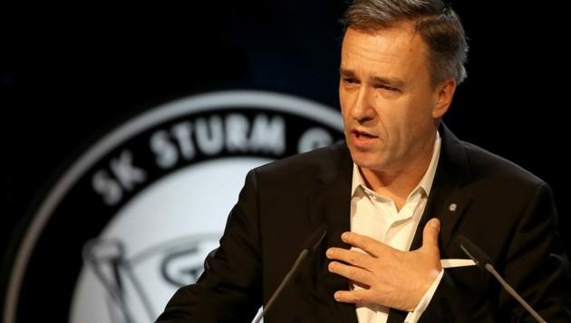 Sturm-Boss Christian Jauk (Bild: GEPA pictures)