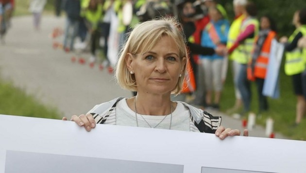 Sabine Koch-Peterbauer will weiterkämpfen (Bild: Tschepp Markus)