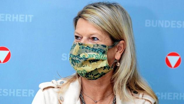 Verteidigungsministerin Klaudia Tanner (ÖVP) (Bild: SEPA.Media KG   Michael Indra   www.sepa.media)