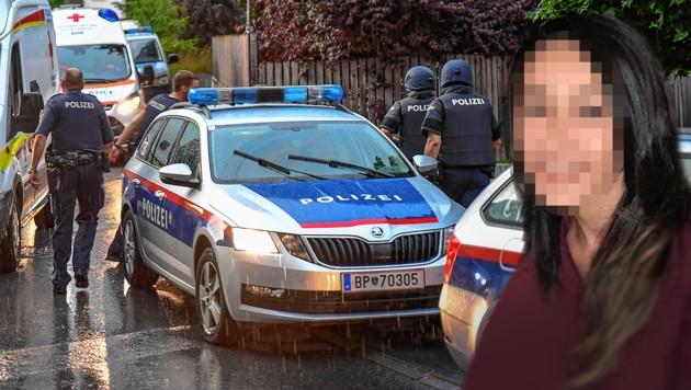 Bircan D.-Ü. wurde ermordet. (Bild: zeitungsfoto.at/Daniel Liebl, privat, krone.at-Grafik)
