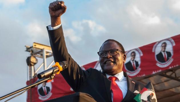 Der ehemalige Oppositionsführer und nunmehrige Präsident Malawis, Lazarus Chakwera. (Bild: AMOS GUMULIRA / AFP)