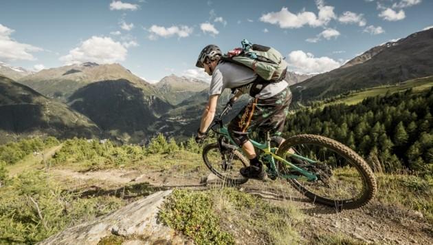 Die Ötztaler mussten in der Bewerbung des Sommers das Rad nicht neu erfinden und setzen unter anderem auf die Biker.