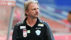Hartberg-Trainer Markus Schopp konnte aufatmen. (Bild: GEPA)