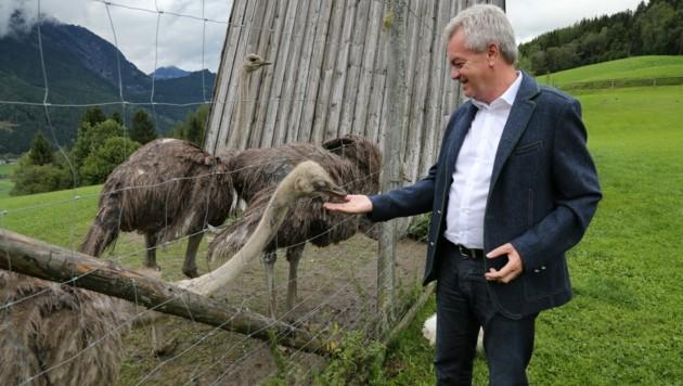 Landesrat Anton Lang ist Tierschutz ein Anliegen. (Bild: Land Steiermark)