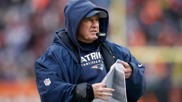 Bill Belichick, Trainer der New England Patriots (Bild: Associated Press)