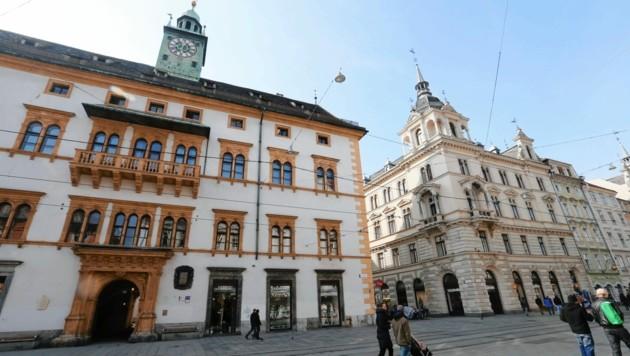 Das Landhaus in Graz (Bild: Jürgen Radspieler)