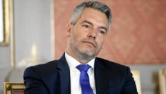 Innenminister Karl Nehammer, ÖVP (Bild: Reinhard Holl)