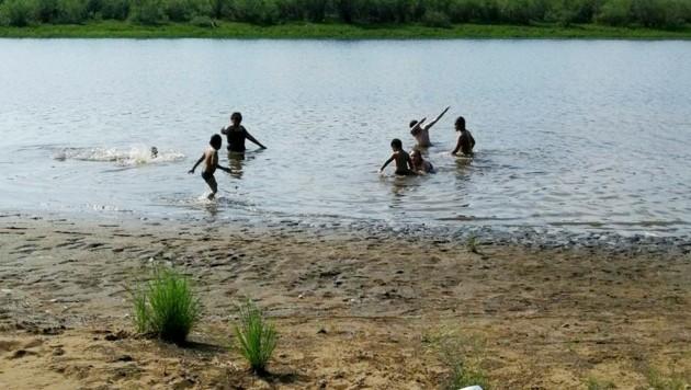 In der arktischen Stadt Werchojansk wurden am 17. Juni 38 Grad Celsius gemessen. (Bild: The Associated Press)