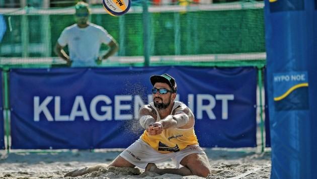 Christoph Dressler zählt zu Österreichs besten Beachvolleyballern, gewann auf der World Tour auch schon Turniere. (Bild: GEPA pictures)
