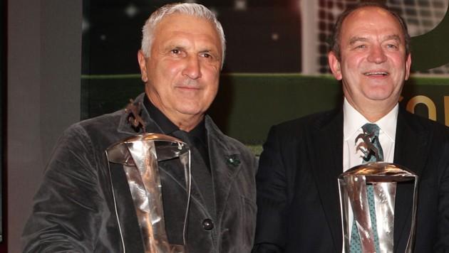 Hans Krankl (li.) und Herbert Prohaska (Bild: GEPA )