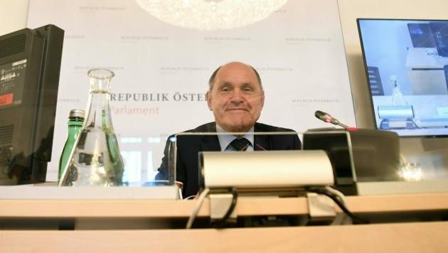Der Vorsitzende des Ibiza-Untersuchungsausschusses, Wolfgang Sobotka (ÖVP)