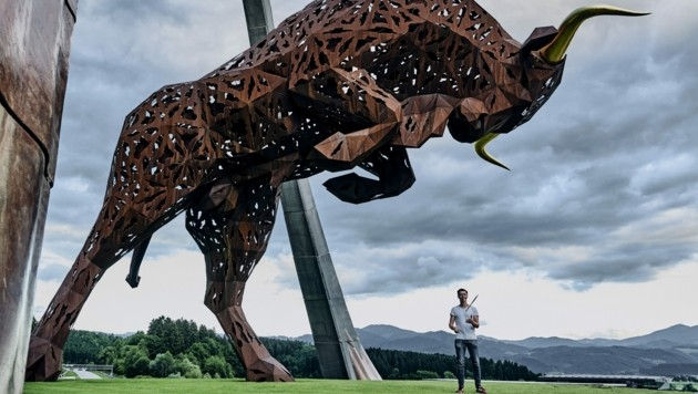 Drum the Bull in Spielberg, Austria. (Bild: Armin Walcher / Red Bull Content Pool)