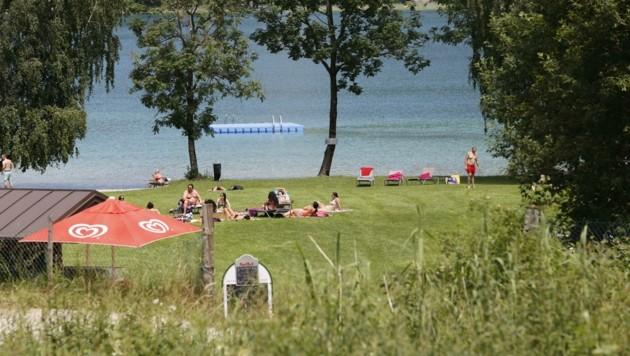 Das tödliche Badeunglück ereignete sich im Strandbad Wesenauer in Fuschl