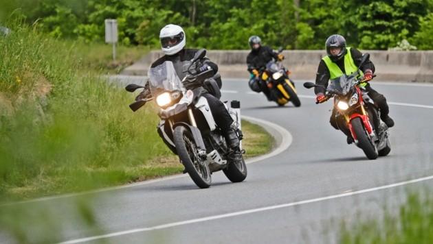 Die Biker wehren sich: Das Fahrverbot wird nun juristisch durchleuchtet. (Bild: Birbaumer Christof)