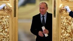 Wladimir Putin bleibt der Herrscher im Kreml. (Bild: APA/AFP/Kirill Kudryavtsev)