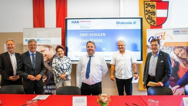 Feldkirchen starten den neuen Schulzweig für Pflegeassistenz (Bild: Wolfgang Jannach)