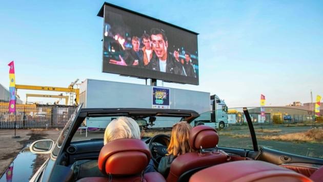 Autokino ist einzigartig;bis Samstag laufen die Filme am Goldeck. (Bild: AFP or licensors)