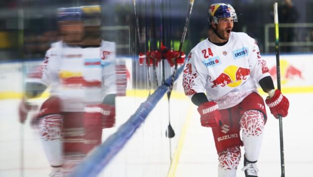 Chad Kolarik im Trikot des EC Red Bull Salzburg. (Bild: GEPA pictures)