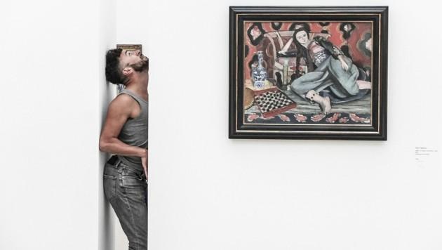 """Chris Haring hat seine """"Stand-Alones"""" für La Strada an die Corona-Zeit angepasst. (Bild: Chris Haring)"""