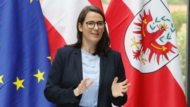 Tirols EU-Parlamentarierin Barbara Thaler (Bild: Birbaumer Christof)