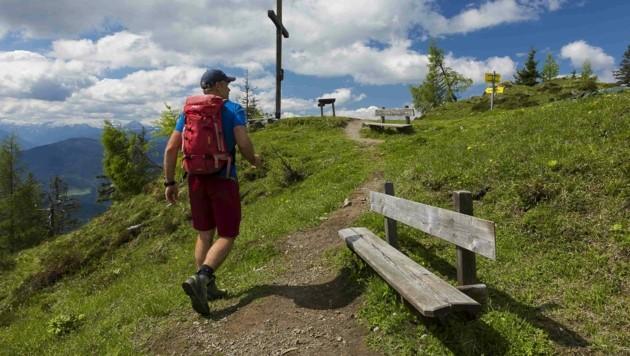 Uwe Grinzinger empfiehlt diese Woche seine heißesten Wandertipps im Tennengebirge. (Bild: Uwe Grinzinger)