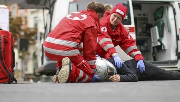(Bild: Österreichisches Rotes Kreuz (ÖRK) / WRK / Markus Hechenberger)