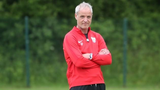 Hat keinen Kontakt zu Sturm Graz: Grödig-Coach Heimo Pfeifenberger. (Bild: Tröster Andreas)