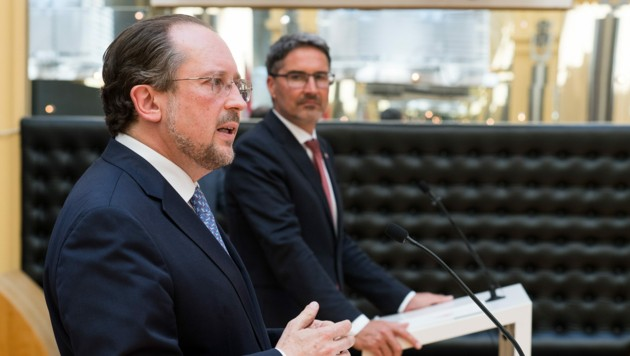 Schallenberg hofft, dass die Grenzen Richtung Italien offen bleiben können - Südtirol nannte er dabei als Vorbild um Umgang mit der Krise.