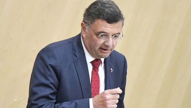 Der stellvertretende SPÖ-Klubobmann Jörg Leichtfried