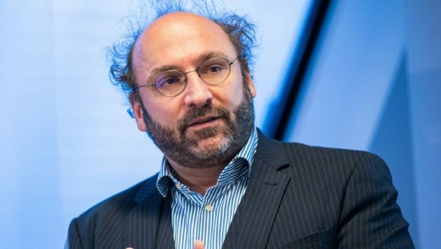 Der Simulationsexperte und Regierungsberater in der Corona-Krise, Niki Popper (Bild: APA/Georg Hochmuth)