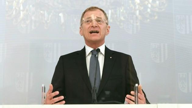 Oberösterreichs Landeshauptmann Thomas Stelzer (Bild: APA/HELMUT FOHRINGER)