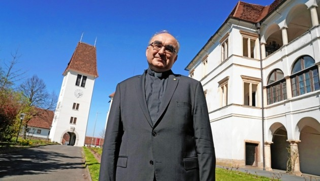 Der steirische Diözesanbischof Wilhelm Krautwaschl (Bild: Sepp Pail)